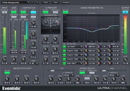 Eventide Plugin Ultra Channel